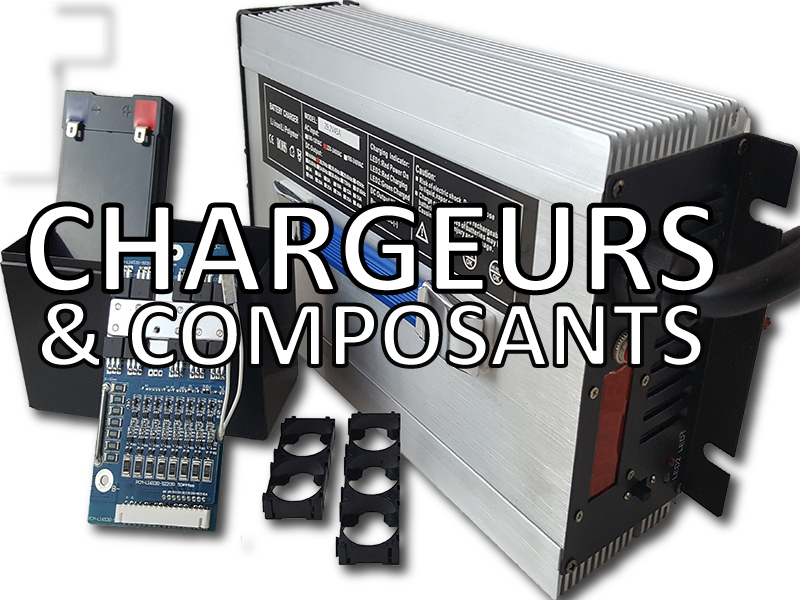 chargeurs composants lithium