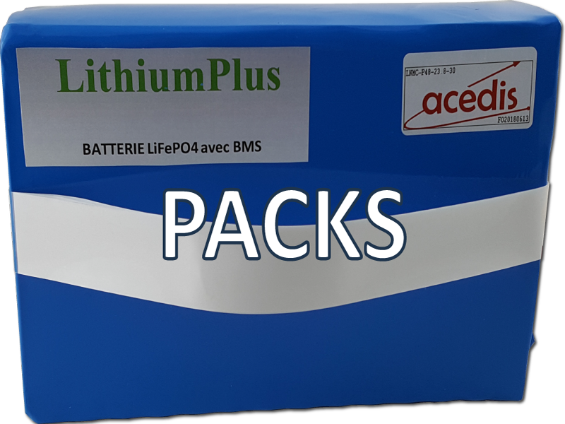 packs lithium